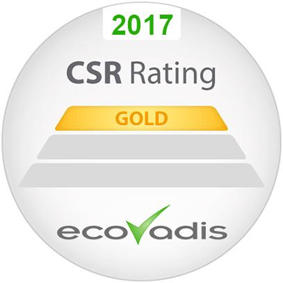 Habillée d'argent en 2015, Copiver rentre en 2017 dans le club restreint des reconnaissances GOLD ECOVADIS, la situant parmi les 5% d'entreprises de son secteur d'activité les + performantes.  ECOVADIS, agence…
